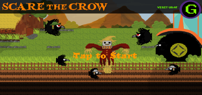 Scare The Crow Gameplay